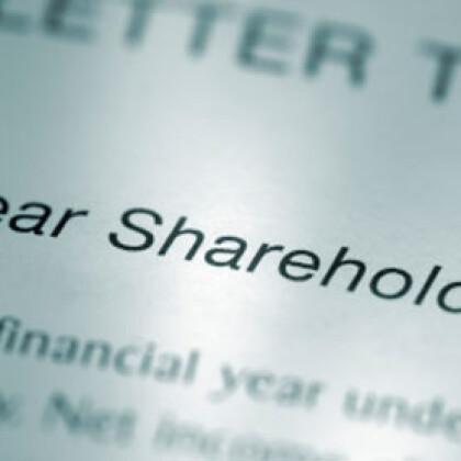 Loans to shareholders