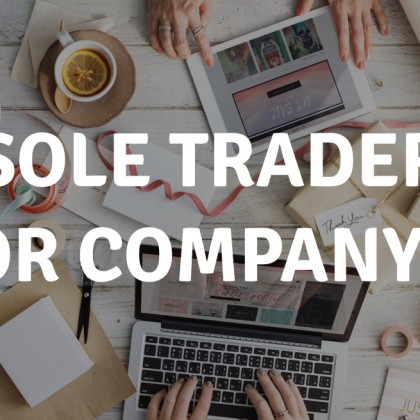 Are you thinking of changing from sole trader to a company?