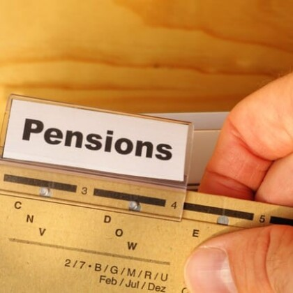 Pension payments 2018