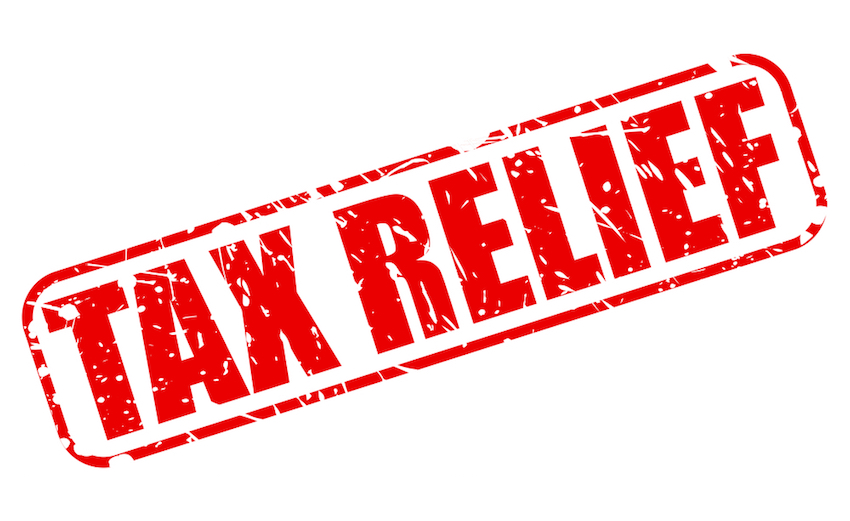 Personal tax relief for low and middle-income earners