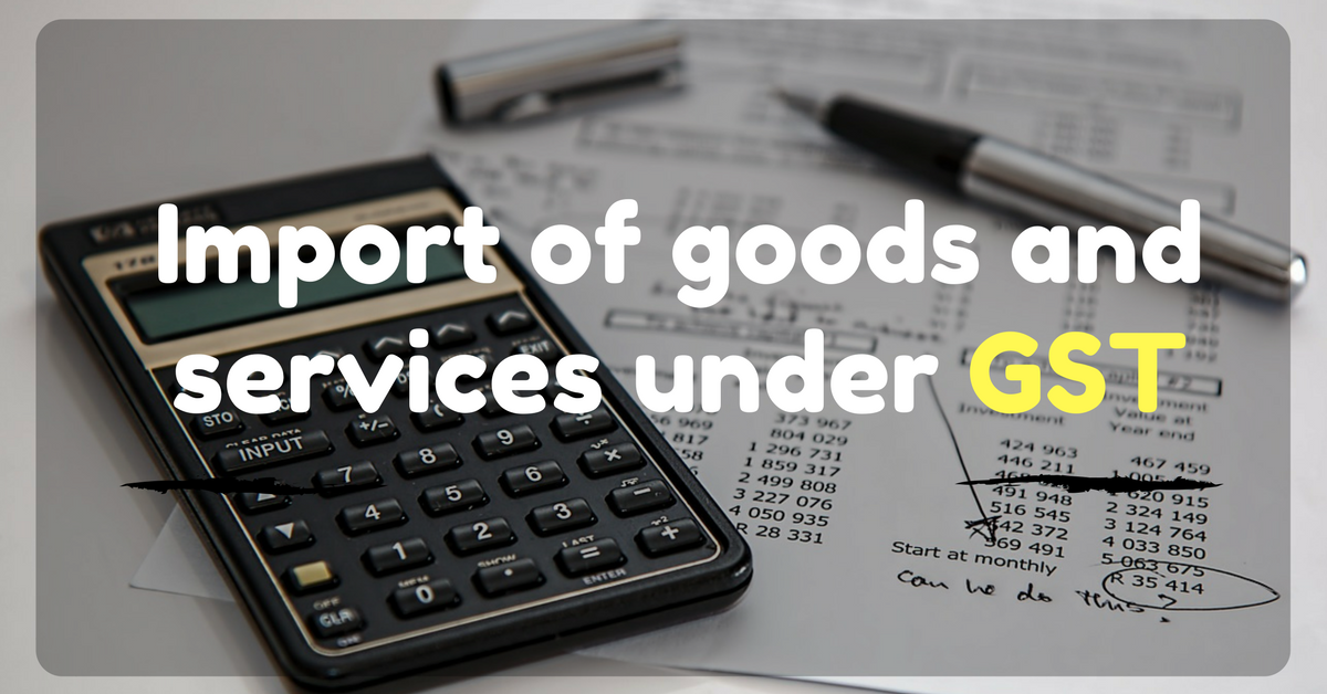 Do you import goods and services?
