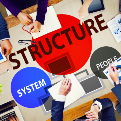 Are you changing your business structure?