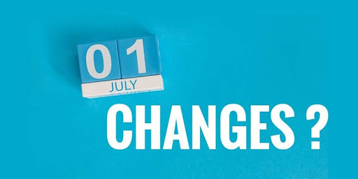 What's changing on 1 July 2020?